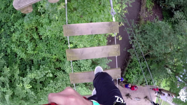 High Ropes / Assault course Montage clips video