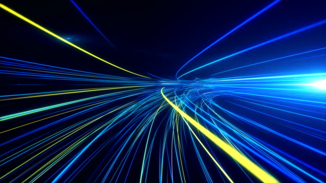 high speed lights tunnel motion trails - abstract stock videos & royalty-free footage