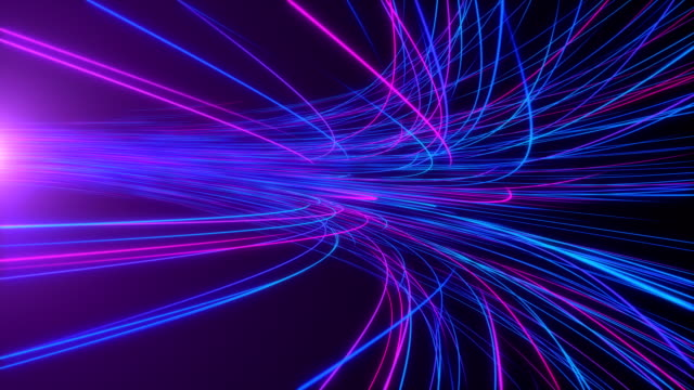 High Speed lights Tunnel motion trails High Speed lights Tunnel motion trails neon colored stock videos & royalty-free footage