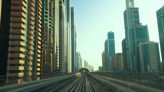 High Speed Train Track to Downtown Dubai