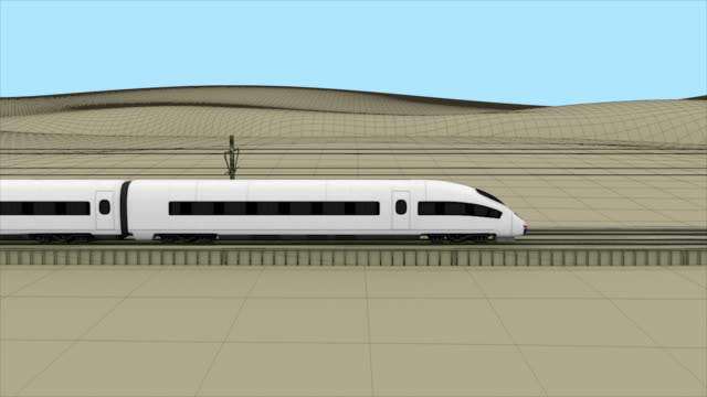 Best High Speed Train Stock Videos and Royalty-Free Footage