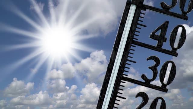 vidéos et rushes de température élevée et sécheresse - canicule