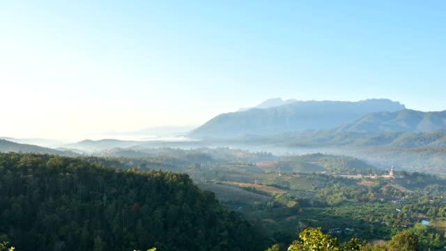 Highest viewpoint on Doi Ang Khang, Chiang Mai. video