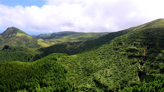 Highlands of Flores Island on Azores / Portugal video