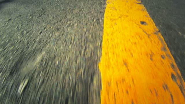 high-speed-pov von ein road - motivation stock-videos und b-roll-filmmaterial