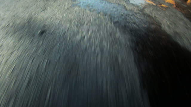 High-speed Car POV of a racing track video