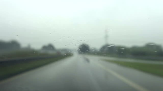 Highway Driving with bad conditions video