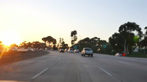 vidéos et rushes de l'autoroute de californie à 4 k - autoroute