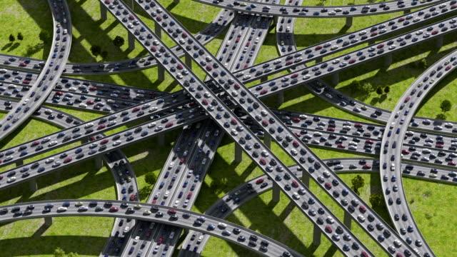 Highway junction video