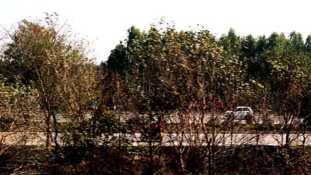highway road - ハリヤナ州点の映像素材/bロール
