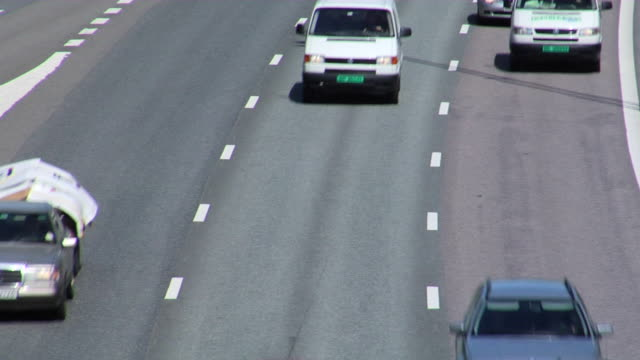 高速道路の交通状態 - 州間高速道路点の映像素材/bロール