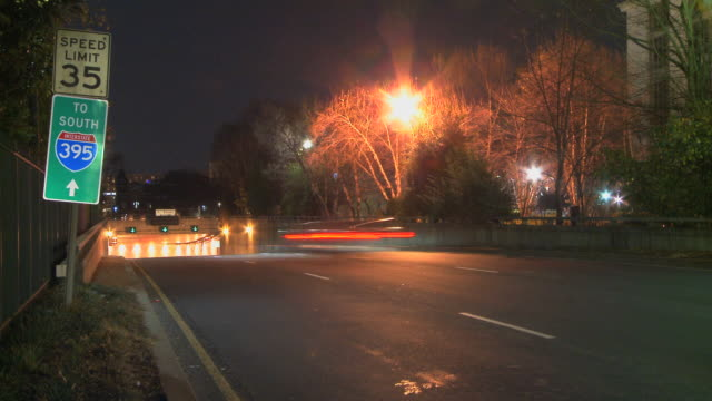 LOOP Highway Tunnel Entrance by Night video