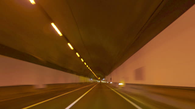 Highway Tunnel Rage Camera Car at High Speed video