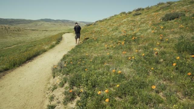 Hiker Selfie Path