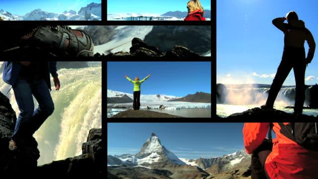 Aventuras de montanhismo Montagem - vídeo