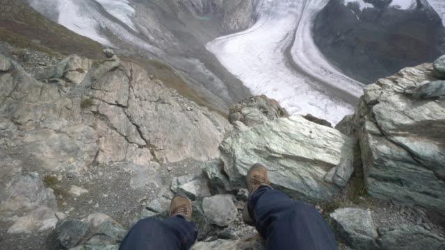 CNEUCIT1148 Hiking in Aletsch Glacier in the Switzerland video