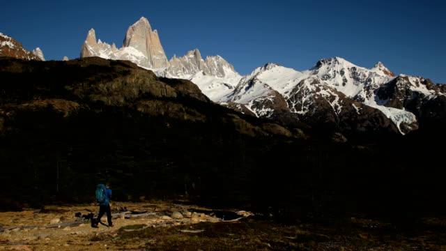 Hiking in Patagonia video