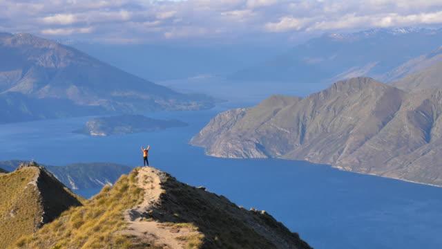 vandring - bergsrygg bildbanksvideor och videomaterial från bakom kulisserna