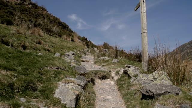 vidéos et rushes de randonnée de la berwyn gamme du pays de galles, royaume-uni - randonnée équestre