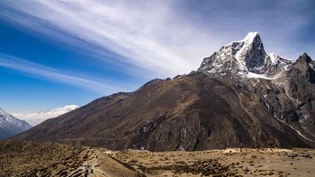 Himalayan mountain range in Nepal. video