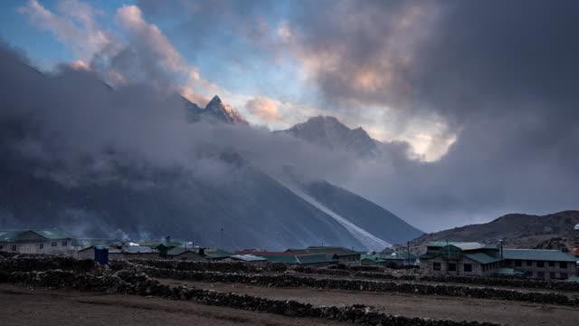Himalayan mountain range in Nepal.Ama Dablam mountain. video