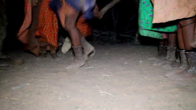 CU Himba Tribal Dancing video