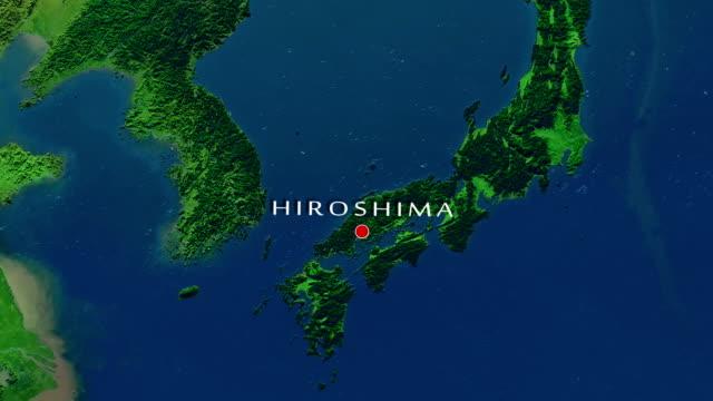 hiroşima yakınlaştırma - hiroshima stok videoları ve detay görüntü çekimi