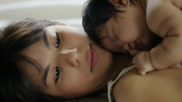 Hispanic Mother and Baby video