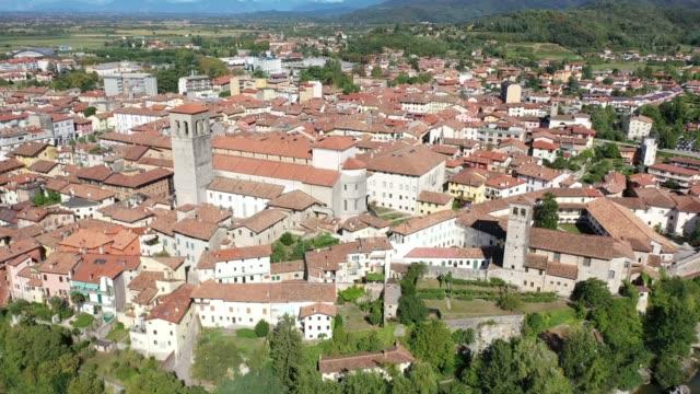 historic centre of Italian township of Cividale del Friuli