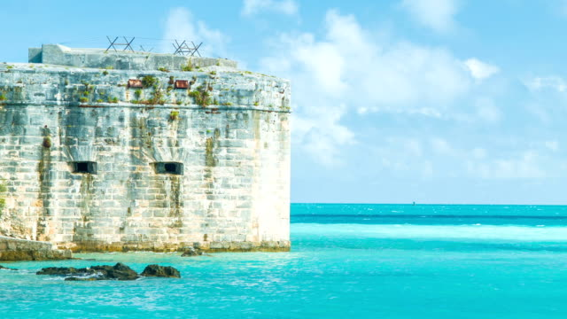 Historic Fort in Tropical Bermuda