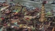 istock Historic German Christmas Market Striezelmarkt Dresden 4K 1097144586