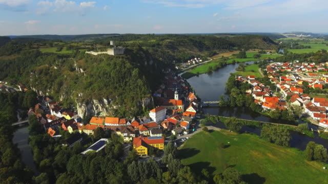 Historic Town Of Kallmuenz In Bavaria video