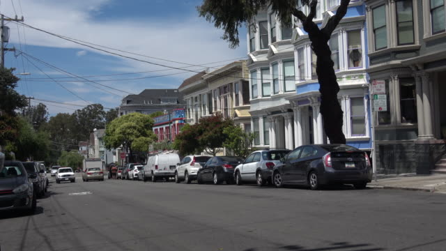 Historic Victorian Homes in San Francisco