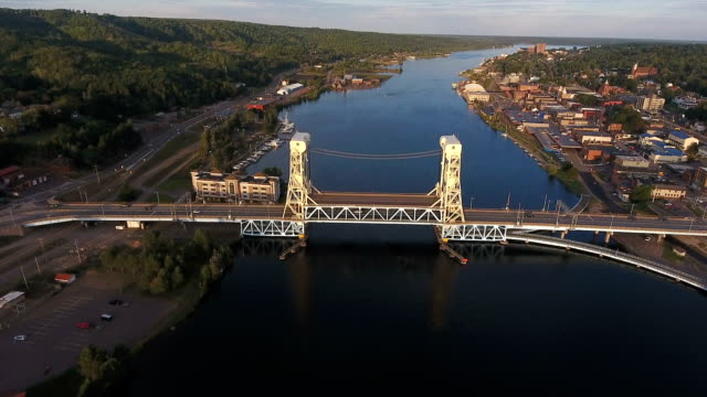 Historical Bridges of Michigan in Houghton video