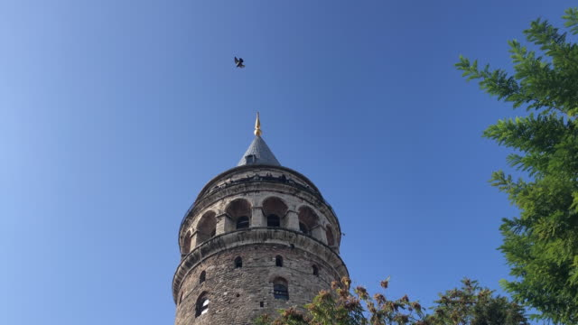 Historical observation tower in Istanbul, Galata tower