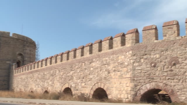 Historical war Castle of 'Kilitbahir' in the Canakkale. Canakkale/Turkey 09/19/2013 Historical war Castle of 'Kilitbahir' in the Canakkale. Canakkale/Turkey 09/19/2013 çanakkale province stock videos & royalty-free footage