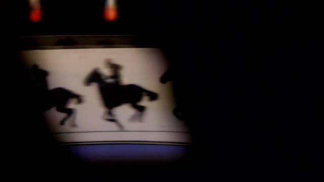 storia del 3d film-praxinoscope - fumetto creazione artistica video stock e b–roll