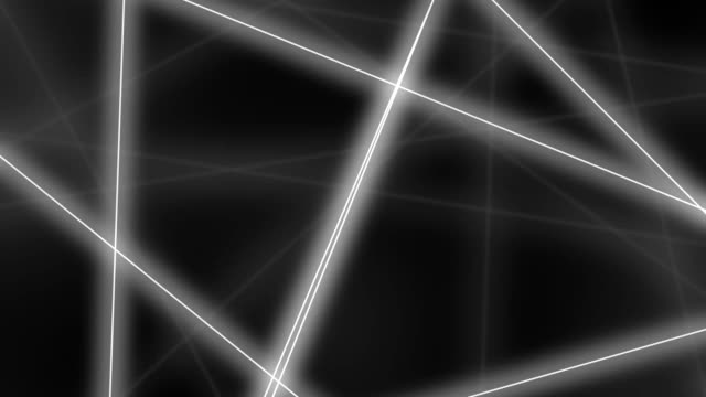 Hi-tech motion background. Abstract glowing grey lines crossings. FullHD seamless loop clip video