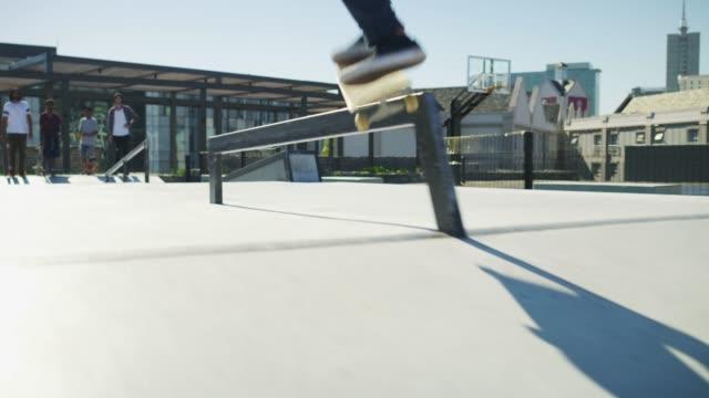 Hitting up the skatepark