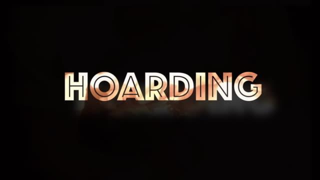 Hoarding Covid19 Computergrafik – Video