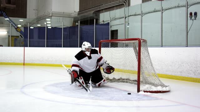 Jugador de Hockey de arranque - vídeo