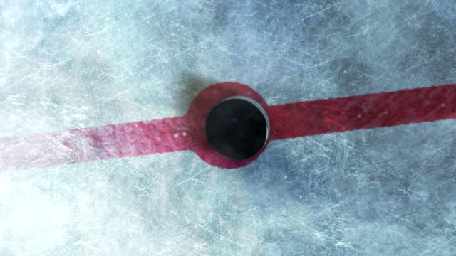 hockey puck drop - hockey stock-videos und b-roll-filmmaterial