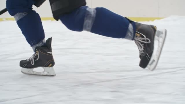 Patinaje habilidad de Hockey - vídeo