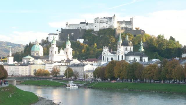 fästningen hohensalzburg salzburg österrike - videor med salzburg bildbanksvideor och videomaterial från bakom kulisserna