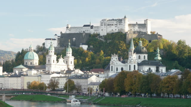 Hohensalzburg Fortress Salzburg Austria video