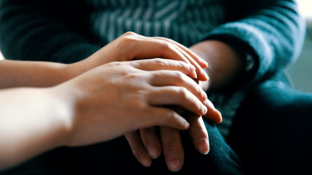 Holding Hand, Helping, Giving Support video