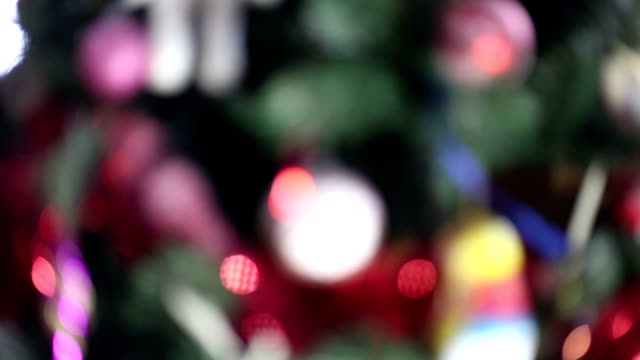 holiday bokeh background of lights video