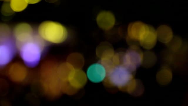 holiday festive bokeh. Christmas Abstract background video