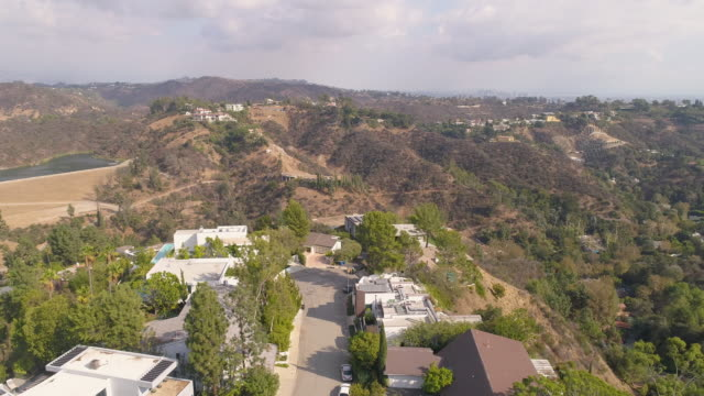 Hollywood Hills Aerial video