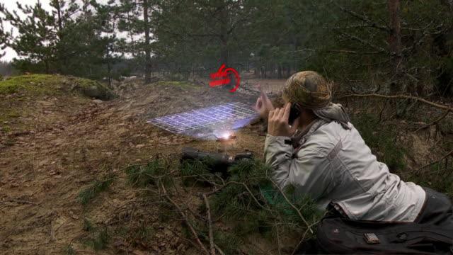 hologram computer video